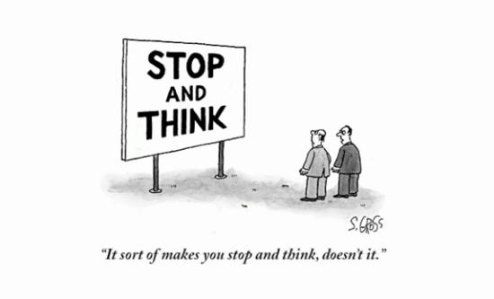Ted talks mit Bob Mankoff: Anatomie eines Cartoons – Made You Look.