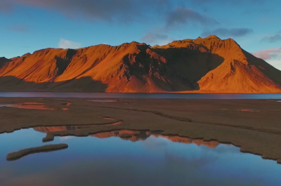 "Screenshot ""Flying over Iceland (Part. II)"" © Yannick Calonge"