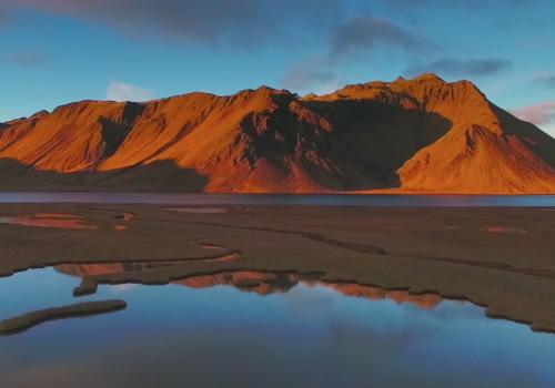 "Screenshot ""Flying over Iceland (Part. II)"" © Yannick Calonge"